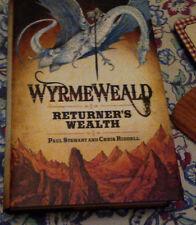 PAUL STEWART & CHRIS RIDDLE - WYRMEWEALD - 1ST UK HARDBACK