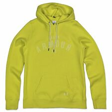 Under Armour CALDA Up Logo Pullover con cappuccio Sport Felpa UA Loose Fit Gelb