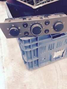 vauxhall vectra c / signum climate control  heater fan switch