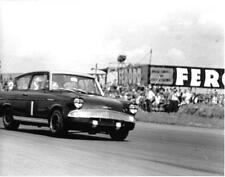 SILVERSTONE FORD ANGLIA PHOTOGRAPH SALOON CAR RACER AT SPEED #1