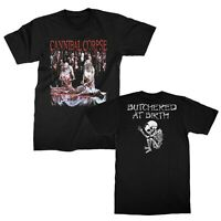 CANNIBAL CORPSE cd cvr BUTCHERED AT BIRTH Official SHIRT XXL 2X new