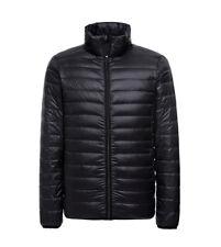 Men's Lightweight Packable Down Jacket Outwear Puffer Coats Warm Winter Coat