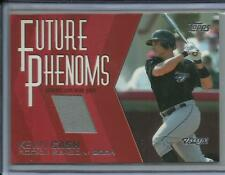 2004 TOPPS TRADED AND ROOKIES KEVIN CASH FUTURE PHENOMS GAME-WORN JERSEY FP-KC