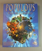 Populous: The Beginning (PC CD-ROM Bullfrog) Big Box - Free Delivery