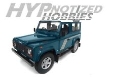 UNIVERSAL HOBBIES 1:18 LAND ROVER DEFENDER 90 DIECAST BLUE 3886
