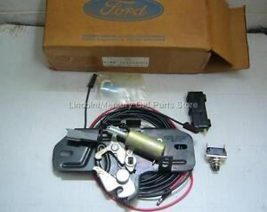 NOS 1979 FORD & MERCURY LUGGAGE TRUNK REMOTE LOCK KIT D9MZ-66432A00-A OEM(ec2b