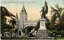 South African Monument St. Louis Gate Quebec Prelinen Unused - Good Corner Wear