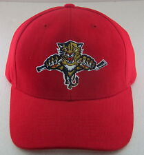 NHL Florida Panthers Red Structured Adjustable Hat By Reebok