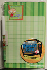 FAMILY GUY MAGNETIC MEMO BOARD & MARKER Stewie Griffin TV Show Notes Cartoon NEW