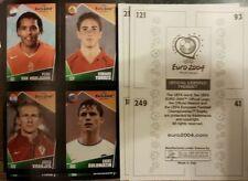 Non-stuck 2004 Season Sports Loose Stickers&Albums