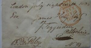 Free Front: 1836 to Pitlochry from Craven FitzHardinge Berkeley, MP - Cheltenham