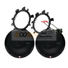 Rockford Fosgate R165X3 Truck Front Door Speakers w/Install Kit for 1995-up GM