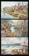 Hants Hampshire BOURNEMOUTH series III Set of 6 Tuck #7504 PPCs