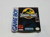 Jurassic Park Nintendo Game Boy Complete in Box Original Tested CIB