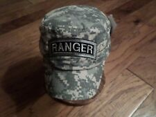 U.S ARMY RANGER HAT DIGITAL CAMOUFLAGE U.S MILITARY STYLE BALL CAP