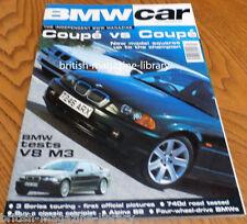 BMW Car Magazine July 1999 - BMW E46 Coupe v BMW E36 - Alpina E36 B8