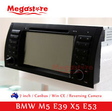 "7"" GPS Nav  Car CD DVD Player For BMW M5 E39 X5 E53"