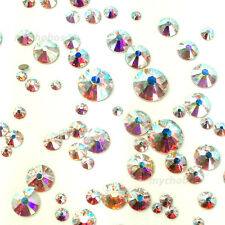 Swarovski Elements 2038 SS34 AB 144pcs Silver-foiled Hotfix FREE USA SHIPPING