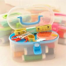 Portable Sewing Kits Multi Function Plastic Box Travel Essential Accessories New