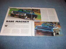 """Paul Walker 1967 Chevy II Nova Restomod Artículo"""" Bebé Imán """""""
