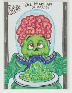 Wacky Attacky Packages  Sketch Card 2020 Blakley