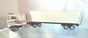 Vintage NYLINT Semi Truck  & Trailer