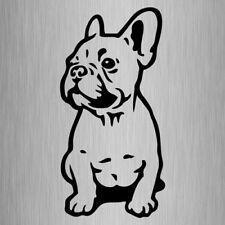 French Bulldog Car Decal Frenchie Vinyl Sticker Small #2