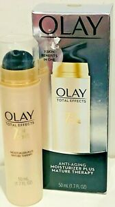 OLAY TOTAL EFFECTS 7 IN ONE MOISTURIZER PLUS MATURE THERAPY 1.7 OZ