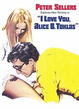 I LOVE YOU, ALICE B. TOKLAS! (DVD) COMEDY ROMANCE PETER SELLERS