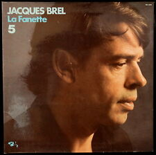 *** 33 TOURS / LP VINYL JACQUES BREL - LA FANETTE * BARCLAY  * FRANCE ***