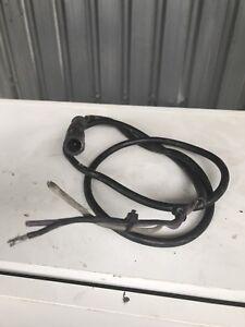 Johnson evinrude outboard rev gauge wiring loom3 pin Plug Type.