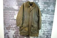 Mens Barbour Classic Northumbria Lined Wax Coat size C40/102Cm No.Z285 10/12