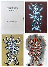 "JACQUES LIPCHITZ ""TREE OF LIFE PORTFOLIO"" 1972 