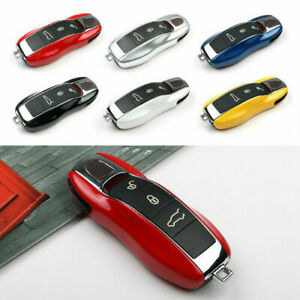 Remote Key Fob Case Shell Cover Protective For Porsche Panamera Macan Cayman 911