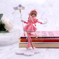 Card Captor Sakura Kinomoto Sakura Magic Scepter PVC Figure Model Cake Decor