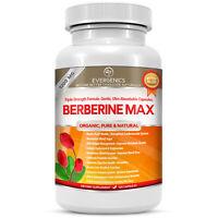 Berberine HCl 1200MG Organic Supplement. For Blood Sugar, Heart & Total Health.