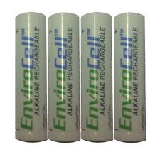 4x Envirocell AAA Rechargeable Alkaline Battery NII-10211 Precharged Eco-Friend