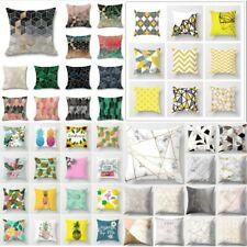Premium Colourful Pattern Geometric Pillow Case Sofa Decor Throw Cushion Cover