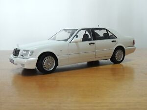 NOREV 183562 Merceds-Benz S 600 White Diecast Model 1:18 Scale
