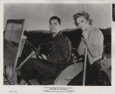 Jeffrey Hunter, Sheree North, The Way to the Gold, 1957 ~ ORIG photo... LINEN