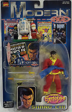 MARVEL HEROES : SHANG CHI CARDED ACTION FIGURE MADE BY TOY BIZ IN 1999 (TK) (SC)