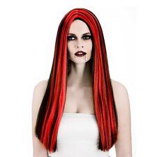 Ladies Vampiress Wig for Halloween Vampire Dracula Fancy Dress Cosplay Outfit