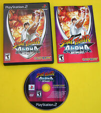 Street Fighter Alpha Anthology - Sony PlayStation 2, Ps2. complete