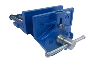 """Yost M9WW Rapid Acting Wood Working Vise, 9"""", Blue 21 Pounds, New"""