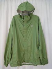 NWOT- K-Way Mens  sz L Windbreaker Hooded Rain lightweight Jacket green