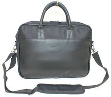 JAMES BOND 007 BLACK FAUX LEATHER MENS LAPTOP / WORK BAG