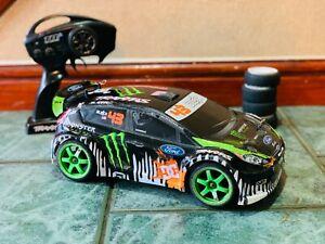 Traxxas RC Electric Brushless car / Ken Block Gymkhana Fiesta / 4WD ,50MPH , RTR
