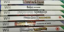Nintendo Wii: Music Game Bundle 1 - Preowned - Fast Dispatch