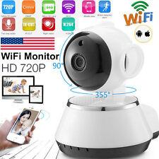 Wireless WiFi Pan Tilt 720p Network CCTV Security IP Camera Webcam Night Vision
