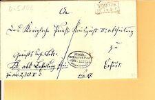 Pr Vor / GEBESEE 3 interssante Stücke, dabei Ra2 auf Gerichts-Brief 1861, auf ND